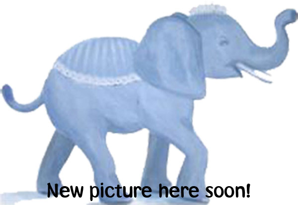 Nachziehspielzeug - Elefant - Blau - Sebra