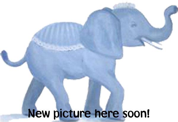 Elefant - Kuscheltier - gestrickt - blue rose - Smallstuff