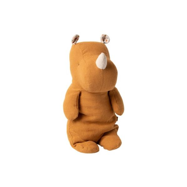 Safari friends medium rhino - Ocher - Kuscheltier - 34 cm - Maileg