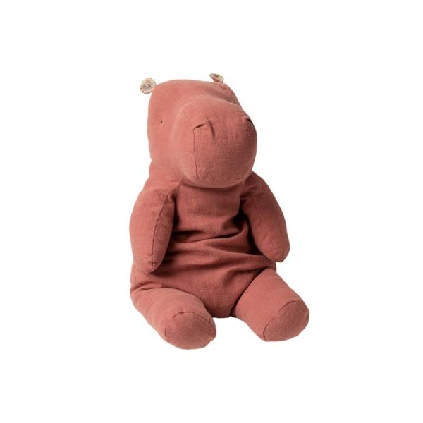 Safari friends mega hippo - Duty plum - Kuscheltier - 60 cm - Maileg