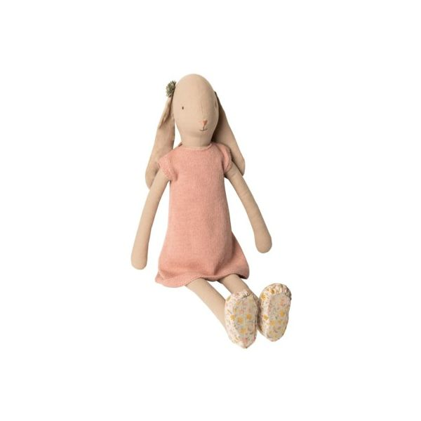 Maileg Hase - Mega, size 5 - Knitted dress, rose -  Bunny Mädchen - Maileg