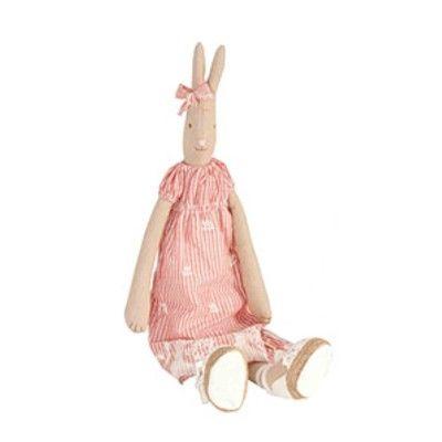 Maileg Hase - Medium - Rabbit Mädchen Elisa mit rotem Kleid - Maileg