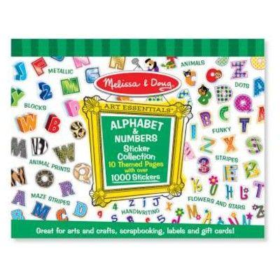 Sticker - Grün - Alphabet & Zahlen
