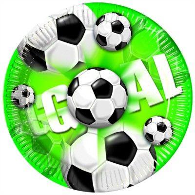 Pappteller - Fußball - 10 St.