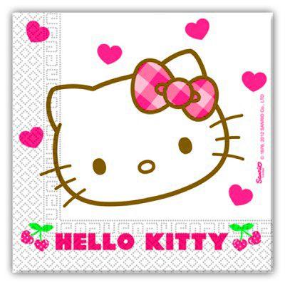 Papierservietten - Hello Kitty - 20 St.
