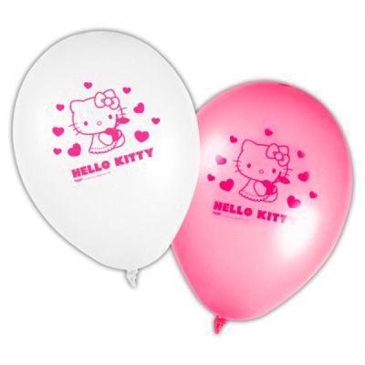 Ballons - Hello Kitty - 8 St.