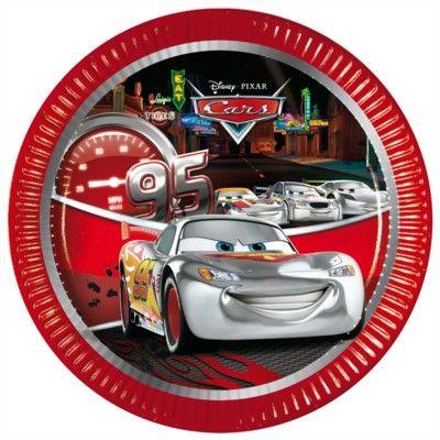 Pappteller - Cars - 8 St.