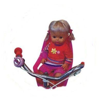 Puppenfahrradsitze - Pink
