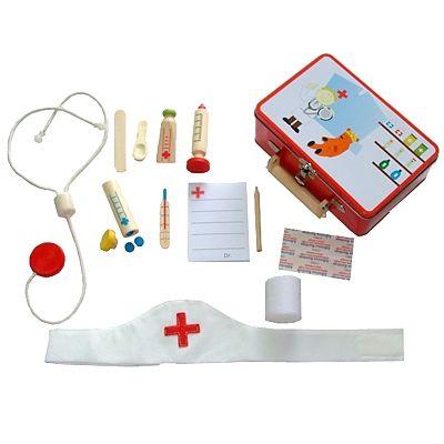 Arztkoffer für Kinder - Metallkoffer