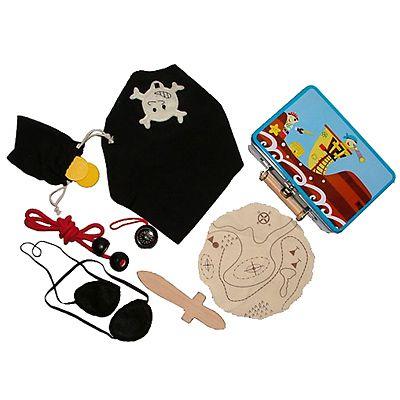Verkleidung - Piratensachen in Metallkoffer