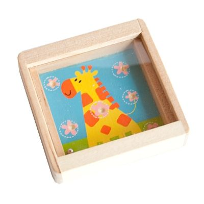 Holzgeduldspiel - Giraffe