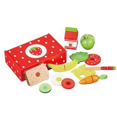 Kaufladen - Lunchbox - Erdbeere
