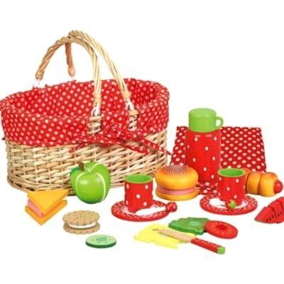 Kaufladen - Picknickkorb mit Essen - MaMaMeMo