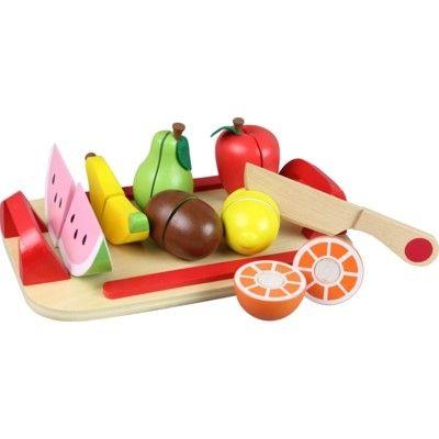 Kaufladen - 7 teilbare Früchte mit Klettenband