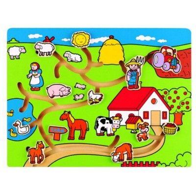 Labyrinthpuzzle - Bauernhof