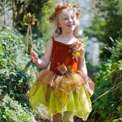 Verkleidung - Herbstfee - 6-8 Jahre