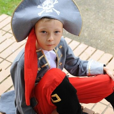 Verkleidung - Piratenkapitän - 3-5 Jahre