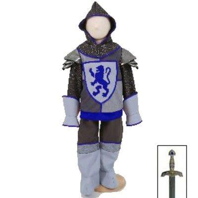 Verkleidung - Ritter mit Schwert, 6-8 Jahre