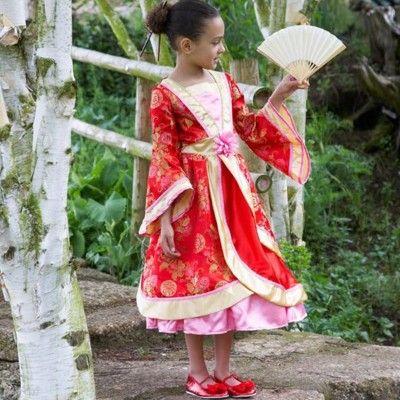Verkleidung - Orientalisches Kleid - 6-8 Jahre