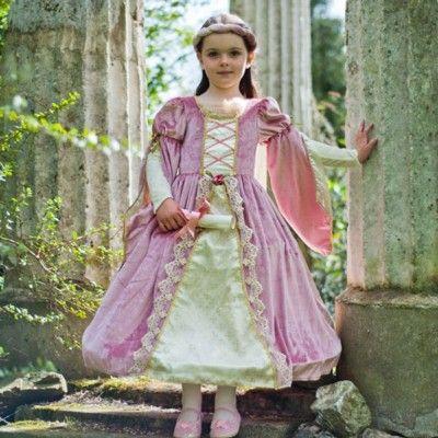 Verkleidung - Mittelalterlich - Rosa - 6-8 Jahre