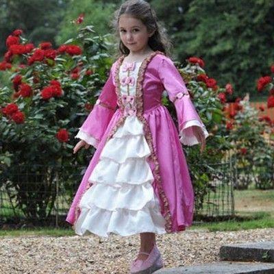 Verkleidung - Marie Antoinette - 3-5 Jahre