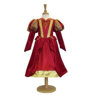 Verkleidung - Mittelalterlich - Rot - 6-8 Jahre