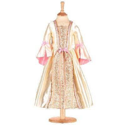 Verkleidung - Kleid in gold und rosa - 6-8 Jahre