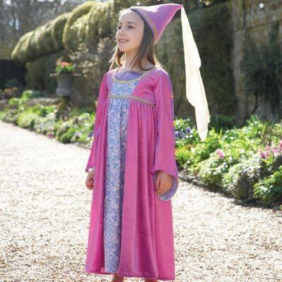 Verkleidung - Jungfrau der Renaissance - 6-8 Jahre