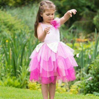 Verkleidung - Feekleid - Rosenblatt - 3-5 Jahre