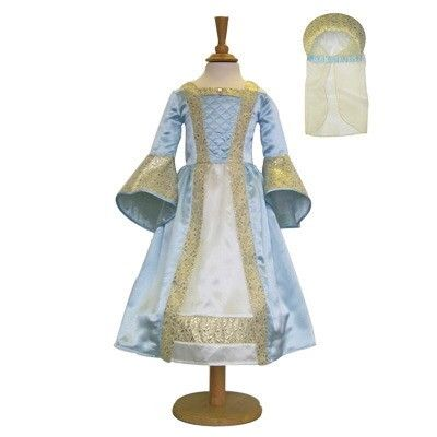 Verkleidung - Mittelalterlich - Blau - 6-8 Jahre