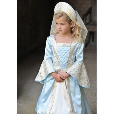Verkleidung - Mittelalterlich - Blau - 9-11 Jahre