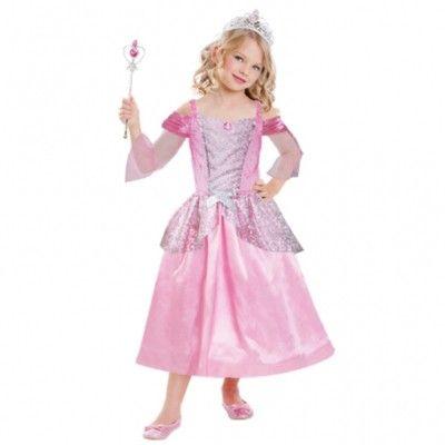 Verkleidung - Prinzessin mit Tiara und Stab - 3-6 Jahre