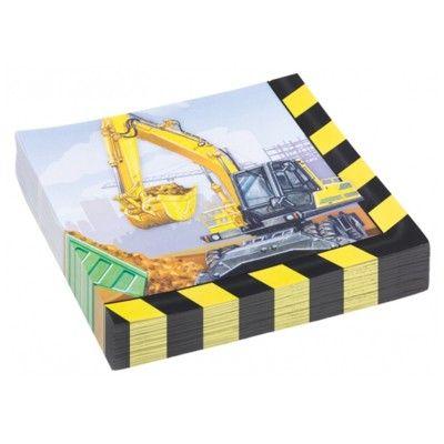 Papierservietten - Construction - 20 St.