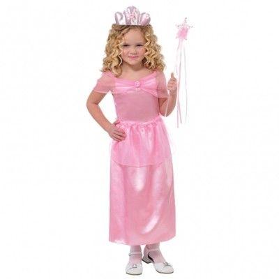Verkleidung - Prinzessin mit Tiara - 4-6 Jahre
