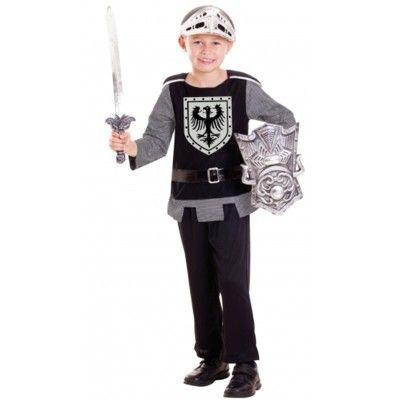 Verkleidung - Ritter mit Schwert & Schild - 3-6 Jahre