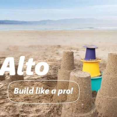 Sandspielzeug - Alto - Bau wie ein Profi