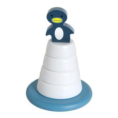 Stapelturm - Pinguin auf Eisberg - Ökologisch von Franck & Fischer