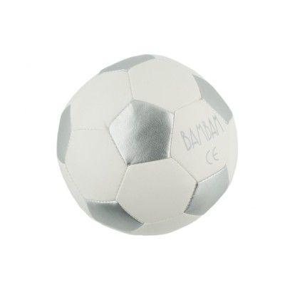 Baby-Fußball - Weiß und silber