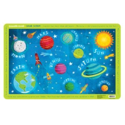 Tischunterlage - Das Sonnensystem