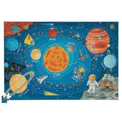 Puzzle - Das Sonnensystem mit Bild - 200 Teile