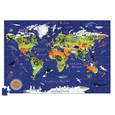 Puzzle - Die Welt mit Bild - 200 Teile