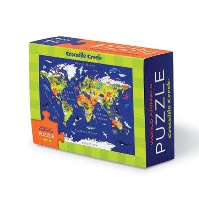 Puzzle - Die Welt - 100 Teile