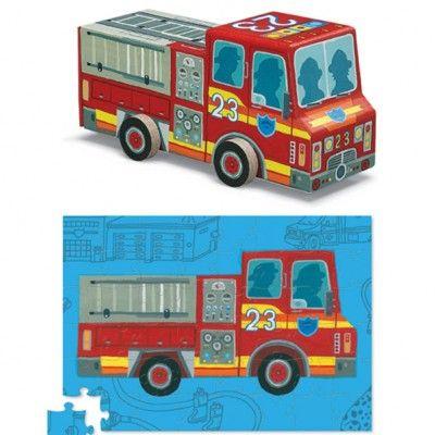 Puzzle - Feuerwehrauto - 48 Teile