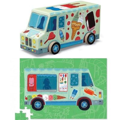 Puzzle - Eiswagen - 48 Teile