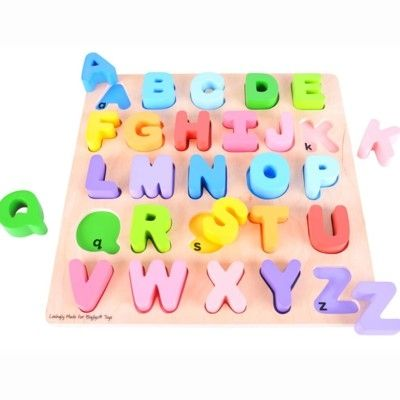 Puzzle - Große Buchstaben - Bigjigs