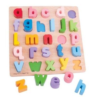 Puzzle - Kleine Buchstaben - Bigjigs