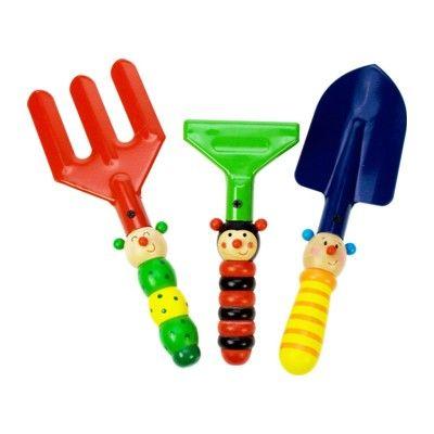 Kinder-Gartenset - Süße Tiere - Bigjigs