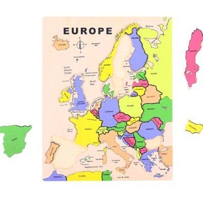 Puzzle - Europa - 20 Teile