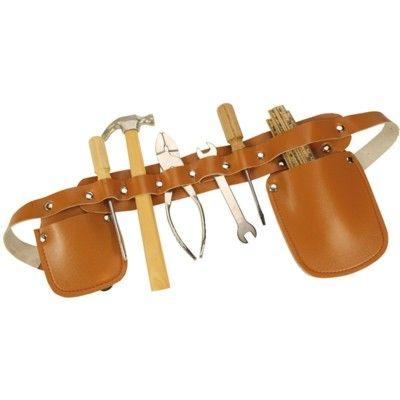 Werkzeuggürtel mit Werkzeuge (richtige) - bigjigs