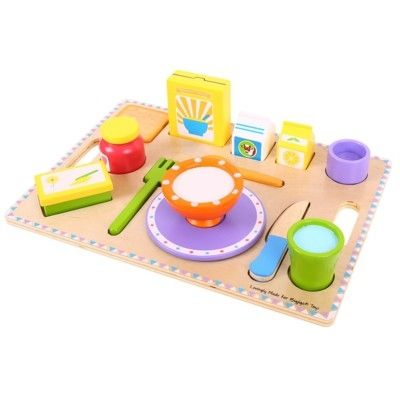 Puzzle - Frühstückstablett - Bigjigs